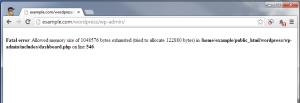 Common WordPress PHP Fatal Error
